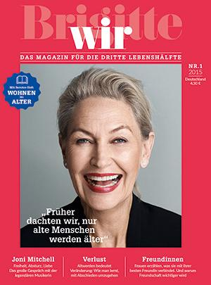 Die erste Ausgabe der Brigitte-Wir.