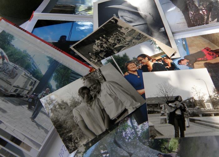 einige alte Fotos von mir