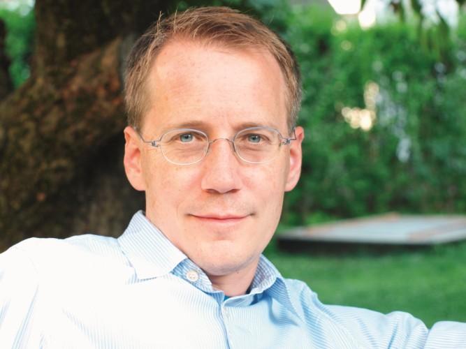 """Autor der """"Maueersegler"""": Christoph Poschenrieder"""