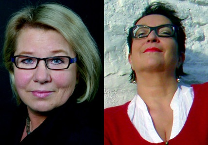 Die Betreiberinnen der Plattform blogs50plus: Uschi Ronnenberg (l.) und Maria Al-Mana