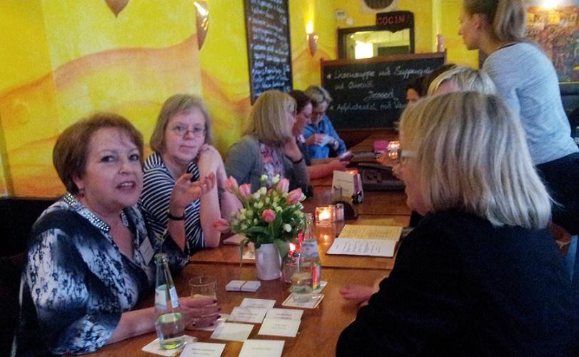 Erstes Bloggertreffen 50plus - von virtueller zu realer Freundschaft