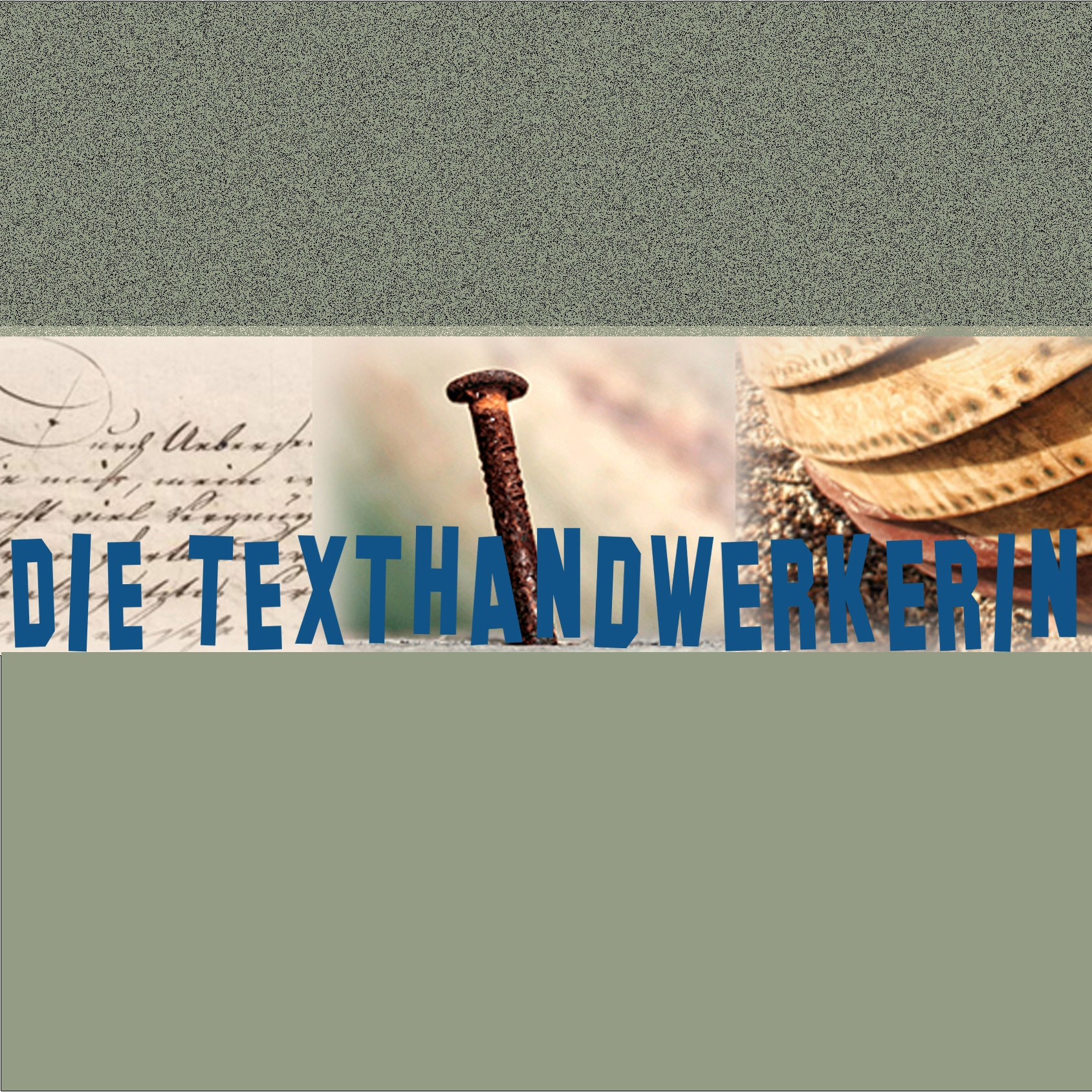 Die Texthandwerkerin