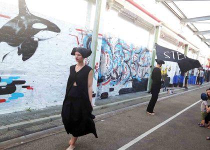 Sommerfest Walzwerk Pulheim Verlag Texthandwerk. angehende Mode-Designer der Freien Akademie Köln