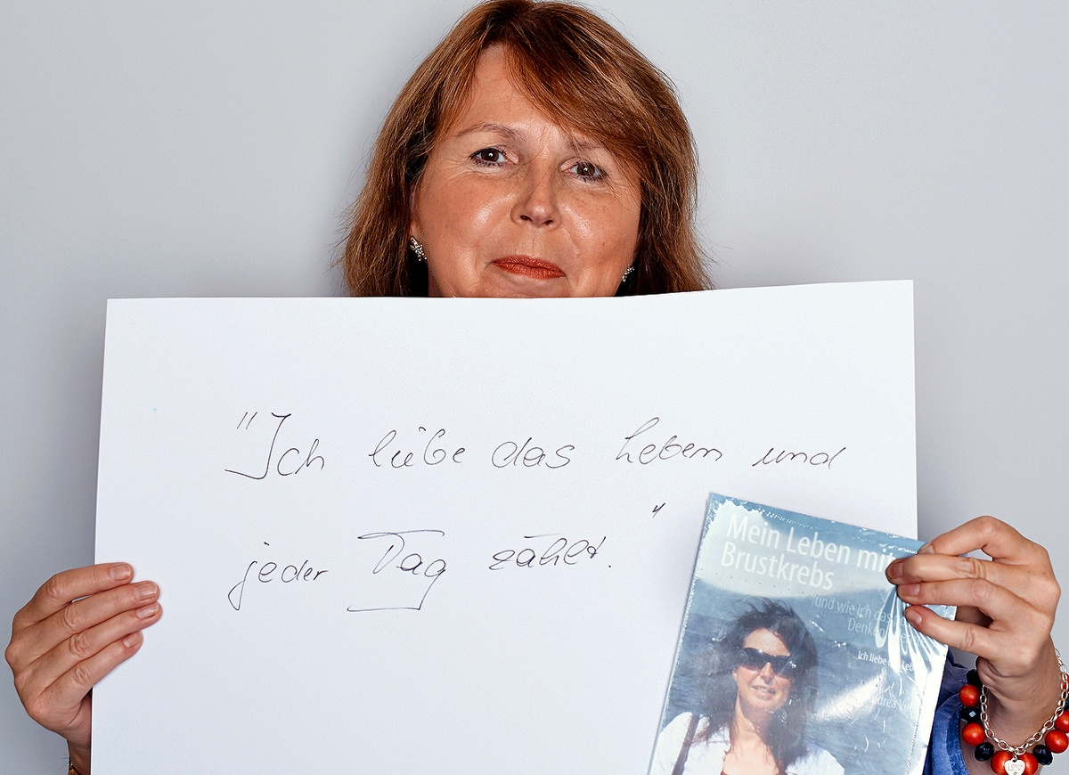 50plus: Andrea Voß. Bloggen gegen Brustkrebs