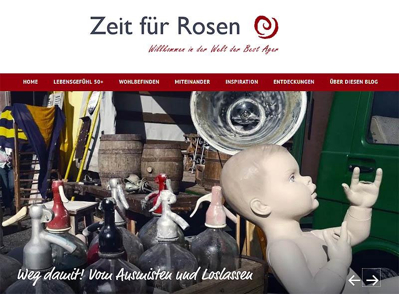 Astrid Sievers, Zeit für Rosen, Blogs 50plus, Blogs 50+, Arbeitswelt 50ülus, Wohnen und Älterwerden