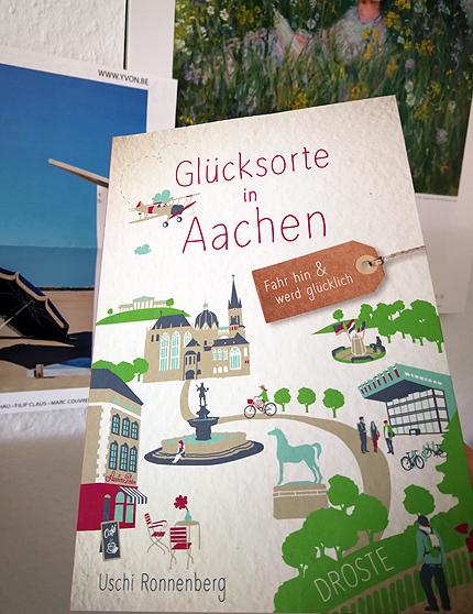 Glücksorte in Aachen, Uschi Ronnenberg, Blogs 50plus